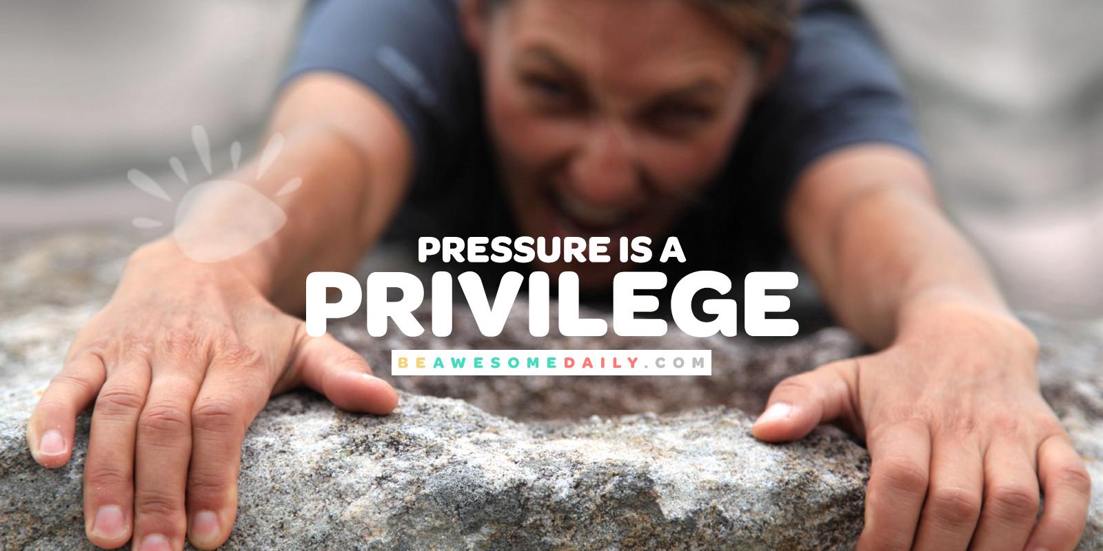 Chrissanne Long - Pressure is A Privilege